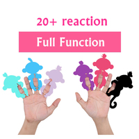 2017 Finger Monkey Rose Interactive Baby Pet Intelligent Toy Tip Monkey Cub Smart Electronic Pet Finger