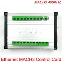 MACH3 400KHZ Full Function Ethernet Card With 6 Axis Montion Controller NVEC400 1MHz Output With Shielded Aluminum Shell 400K