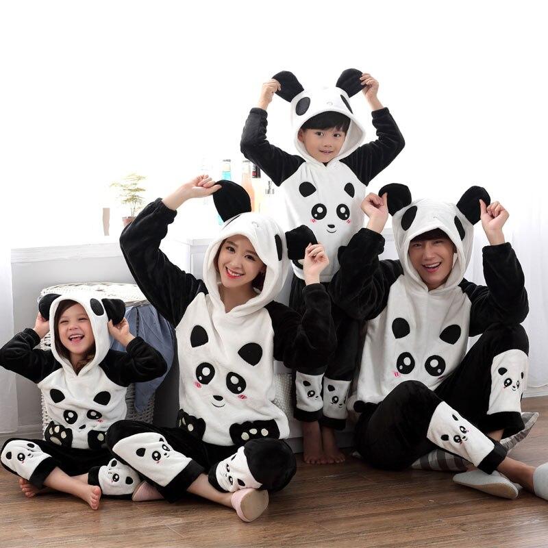 739f40d2b922 matching family pajamas for the whole family panda boy children kids onesies  panda sleepwear pajama set animal pajamas one piece-in Matching Family  Outfits ...