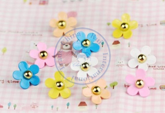 Stud Earrings ear rings Fashion for women Girls lady daisy rivet multi color desgin CN post