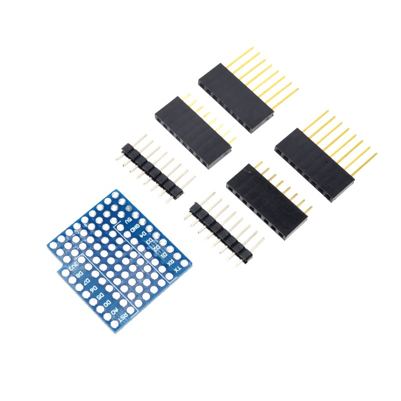 2017 Direct Selling Sale Logic Ics D1 Mini Double Sided Perf Board Protoboard Shield Wifi Internet Of Things Development Based