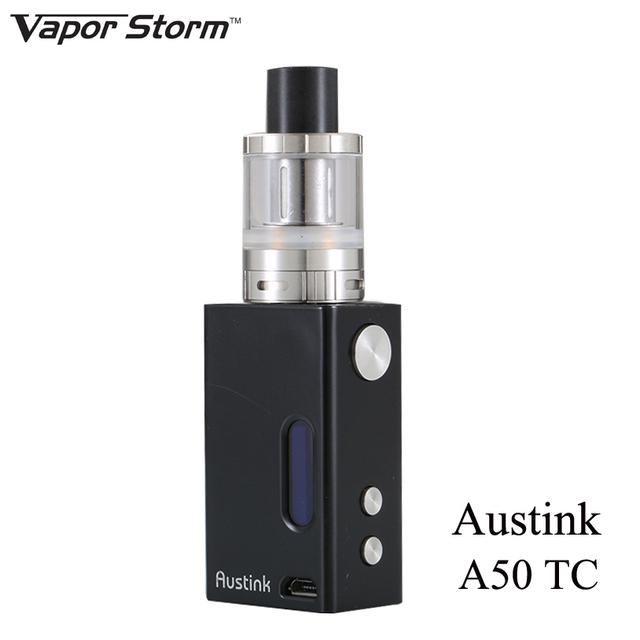 O cigarro eletrônico mini box mod kit moda e cigarro vaporizador vapor storm austink um 50 hookah eletrônico caneta vape x1052