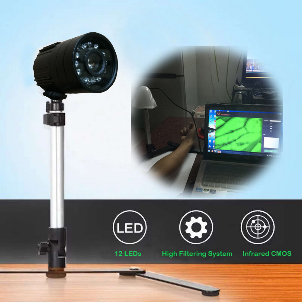 US $122 0 |2019 New Version Adjustable Adult Children Vein Viewer Display  Infrare Lights USB Camera Imaging IV Medical Vein Finder-in USB Gadgets  from
