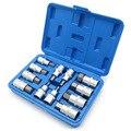 12pcs Metric Hex Bit Socket Set 1/2 Unidade Polegada Alle Sockets Bit Chave de Fenda Em Aço Cromo Vanádio