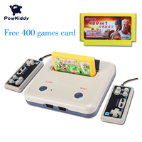 High Quality TV Game Player Retro Classics Games 400 Games Play Card Original Card Two Card
