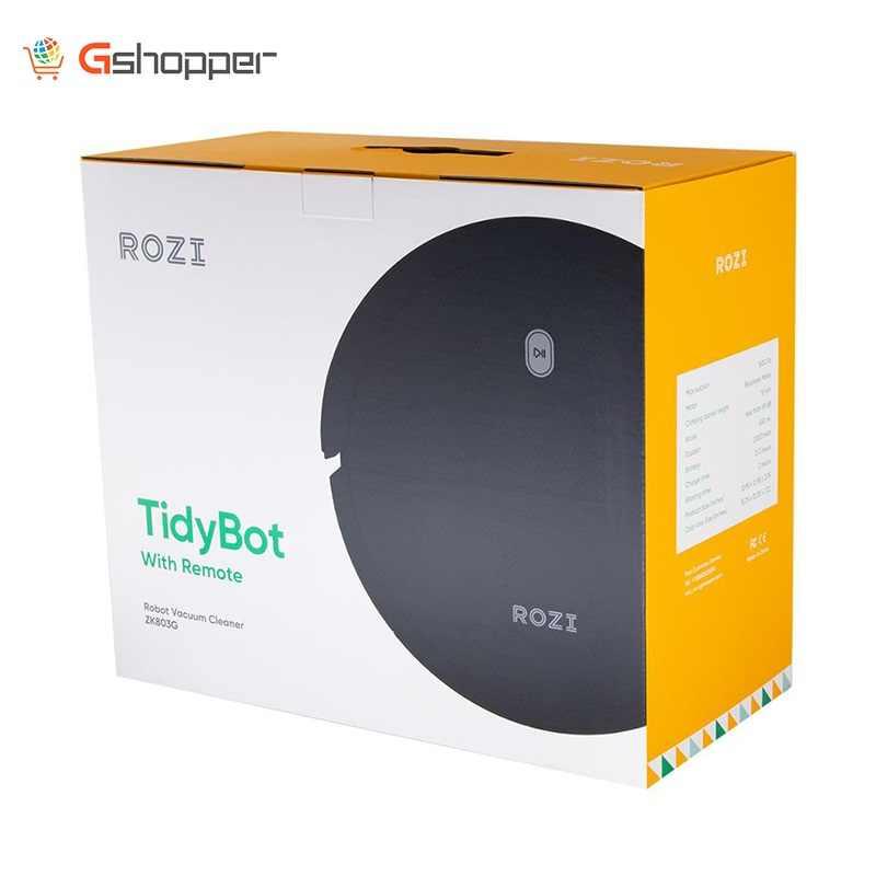 2020 Rozi Kuat Sweep Suction Smart Robot Vacuum Cleaner dengan Self Biaya 1000 Pa Daya Hisap dengan Remote Control seisoai Tech