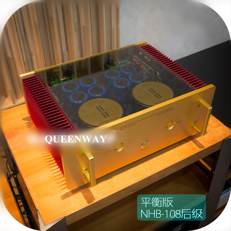 The newest Study/Copy Dartzeel NHB108 Standard Version power amplifier HIFI AMP NO Negative feedback amplifier circuit power AMP name machine b 108 circuit no big loop negative feedback pure post amplifier hifi fever grade high power 12 tubes