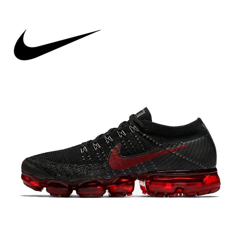 Nike Air VaporMax Flyknit chaussures de course pour hommes Sport baskets de plein Air Designer athlétique bonne qualité 2018 nouveauté 849558-013