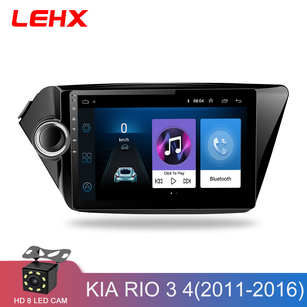 2din Android 8 1 car radio multimedia player gps navigatio for Kia RIO 3 4 Rio