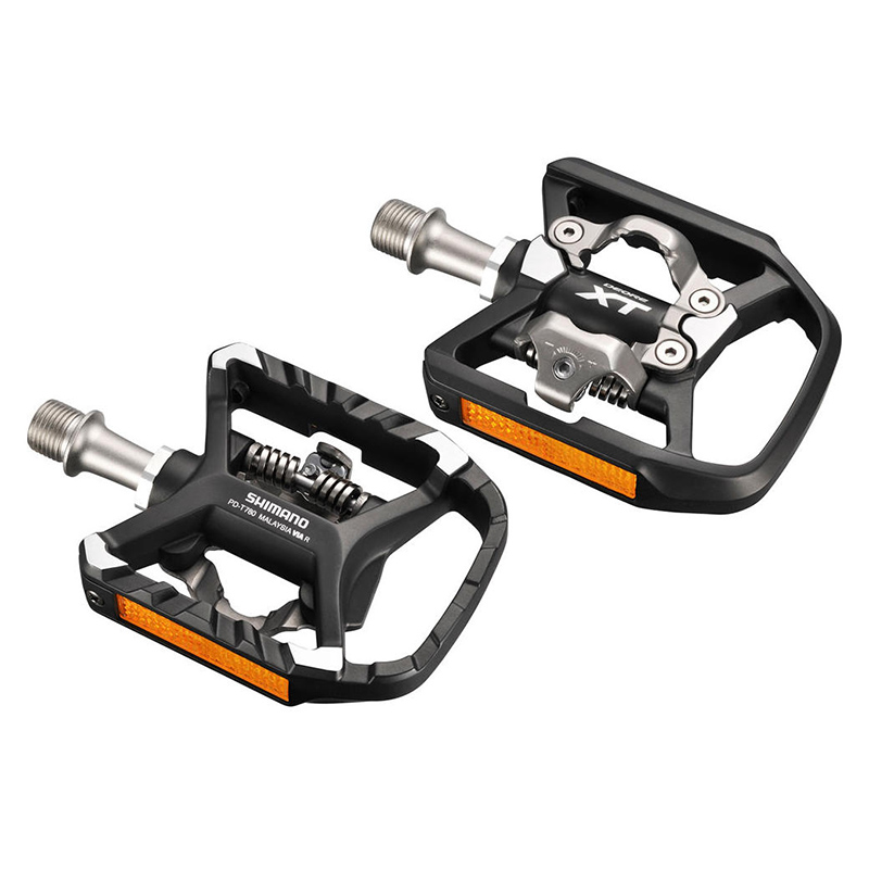 Shimano PD-T8000 MTB Multi-Purpose Flat//Clip-in Deore XT SPD Pedals T780