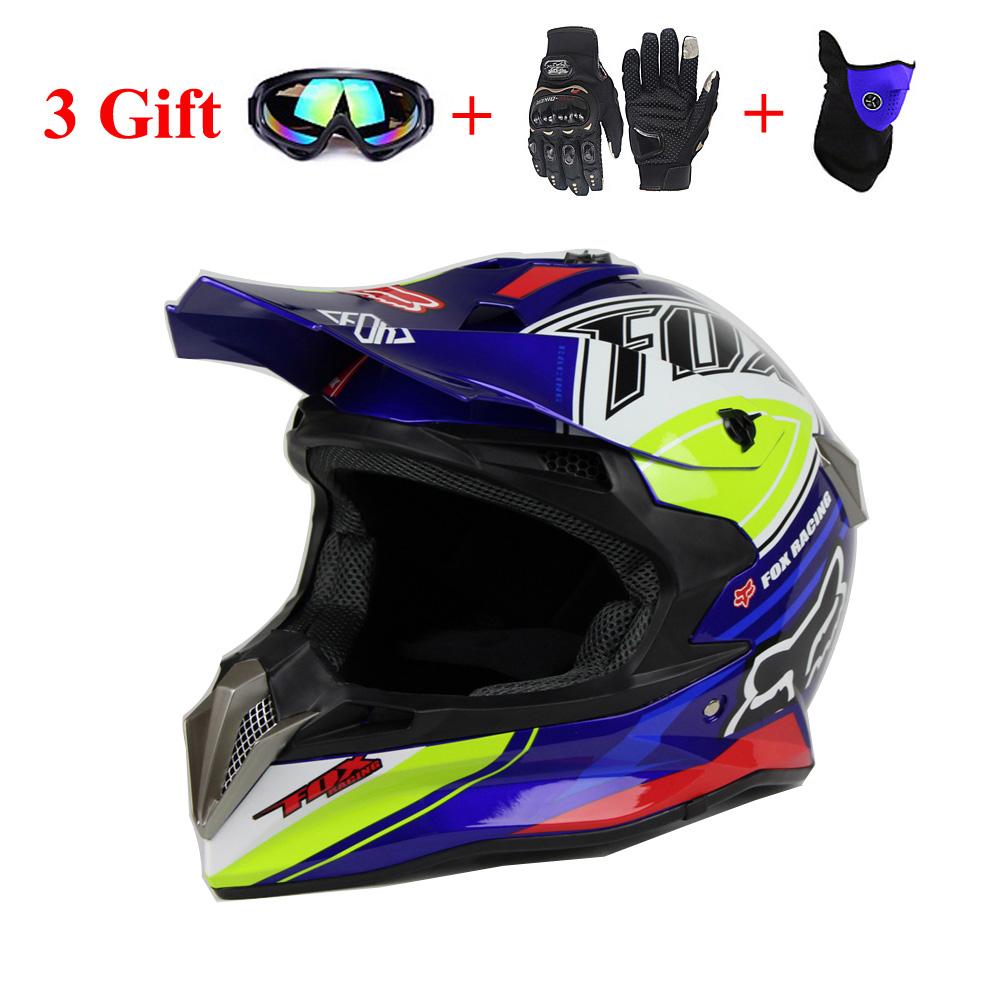 Motorcycle Adult Motocross Off Road Helmets ATV Dirt Downhill MTB DH Racing Helmet cross Capacetes + Three Gifts цена и фото