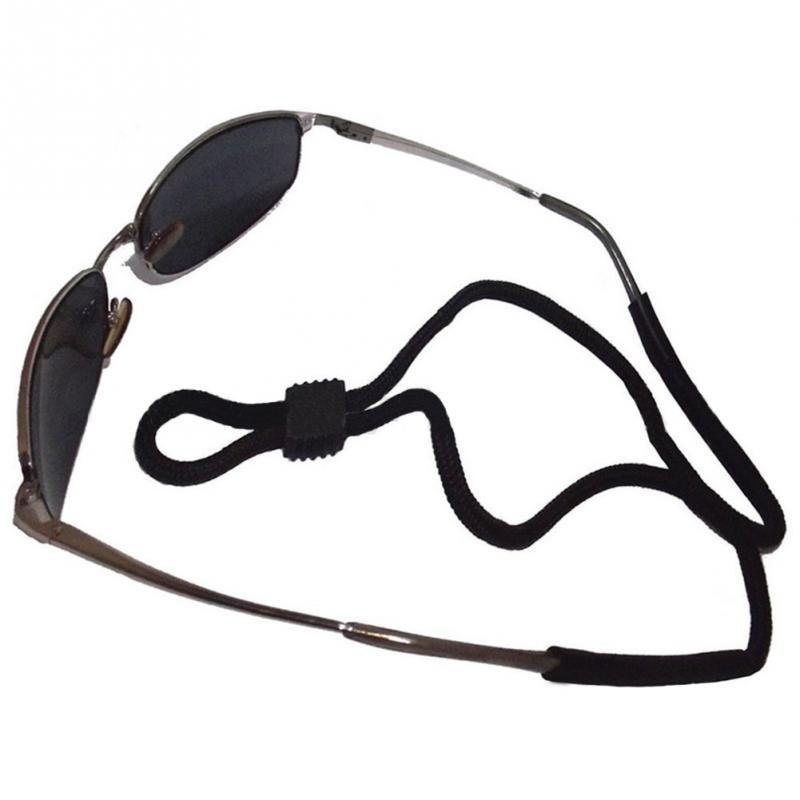 da677d84772 2018 1pcs Sunglasses Adjustable Neck Strap Cord Eyeglass Glasses Lanyard  String Holder Black Sports glasses hanging