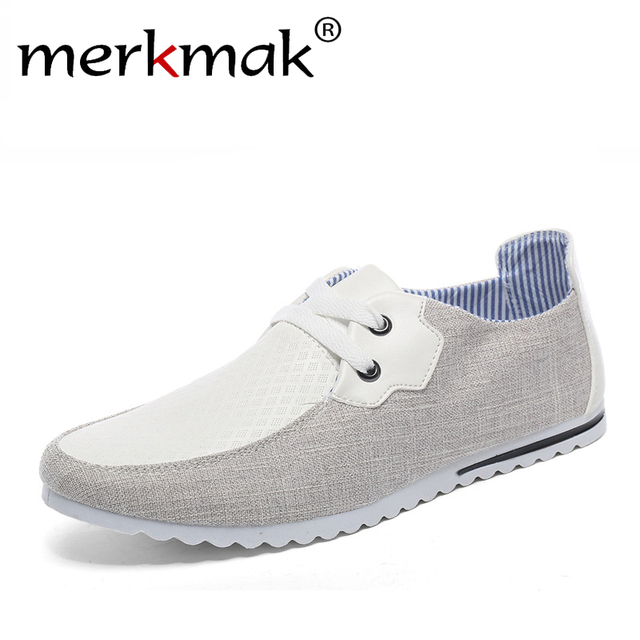 New 2016 Breathable Man Hemp Summer Flat Shoes Fashion Outdoor Men Shoes Light Soft Men Casual Sport Boat Driving Men's Flats