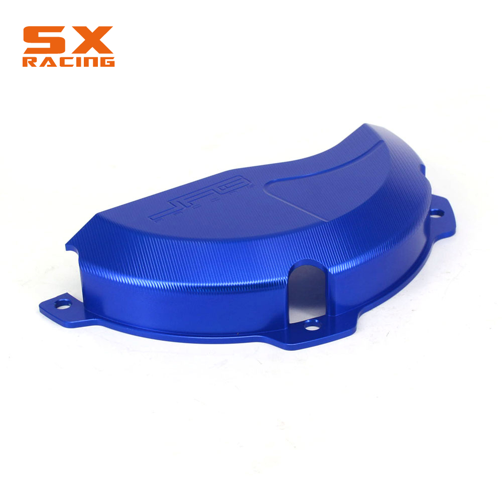 Motorcycle CNC Blue Right Side Engine Case Protector Cover Guard For HUSABERG TE250 TE300 10 14