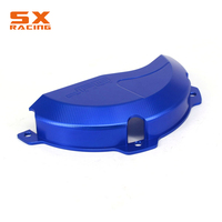 Motorcycle CNC Blue Right Side Engine Protector Cover Guard For HUSABERG TE250 300 2010 2014 EXC250