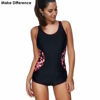 Make Difference Brand Lycra Women S Sports One Piece Swimsuits 2018 Sports Swimwear Summer May Beachwear