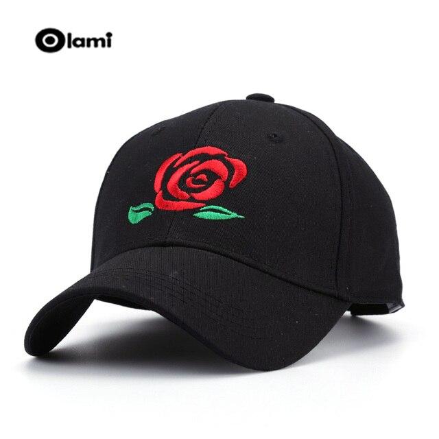 299cced2b2b57 Olami Nouveautés Cap Hommes Coton casquette de Baseball Caps Rouge rose  dédié à vous Je t