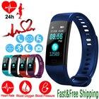 ✔  Smart Watch Спорт Фитнес-активность Трекер сердечного ритма Браслет артериального давления GM139 Вод ①