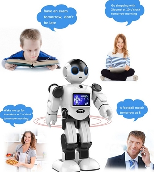 New Innovative 17 Degrees Of Freedom Intelligent Automatic Humanoid Programmable Robot For Kids Accompany