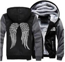 Winter Verdicken Hoodie Männer Reißverschluss Kapuzenmantel Marke Herren Trainingsanzug Sweatshirt Einfarbig Thick Warmen Plus größe Hoodies
