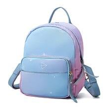 3bbae9027cff0 Mode Lässig Frauen Mini Rucksäcke Weibliche Qualität Nylon Rucksack Schöne  Kleine Einkaufstasche Rucksack Für Junge Mädchen