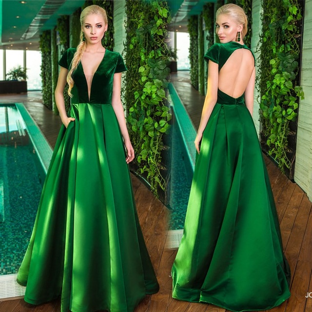 Vestidos de fiesta baratos verde