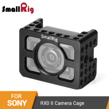 "SmallRig RX0 ii Camera Cage for Sony RX0 II Form-Fitted Cage With 1/4""-20 Threaded Holes and Arri Locating Holes - 2344 plaid form fitted cami dress"