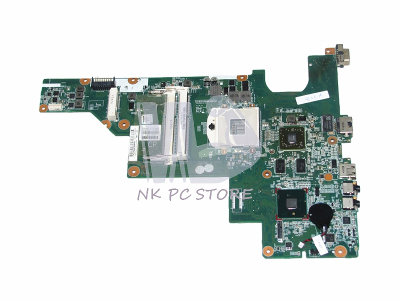 646176-001 Main Board For HP CQ43 CQ57 Laptop Motherboard HM55 DDR3 ATI HD 6370 cn 0vx53t 0vx53t vx53t main board for dell inspiron n5010 laptop motherboard 48 4hh01 011 hm57 ati hd 5470 ddr3