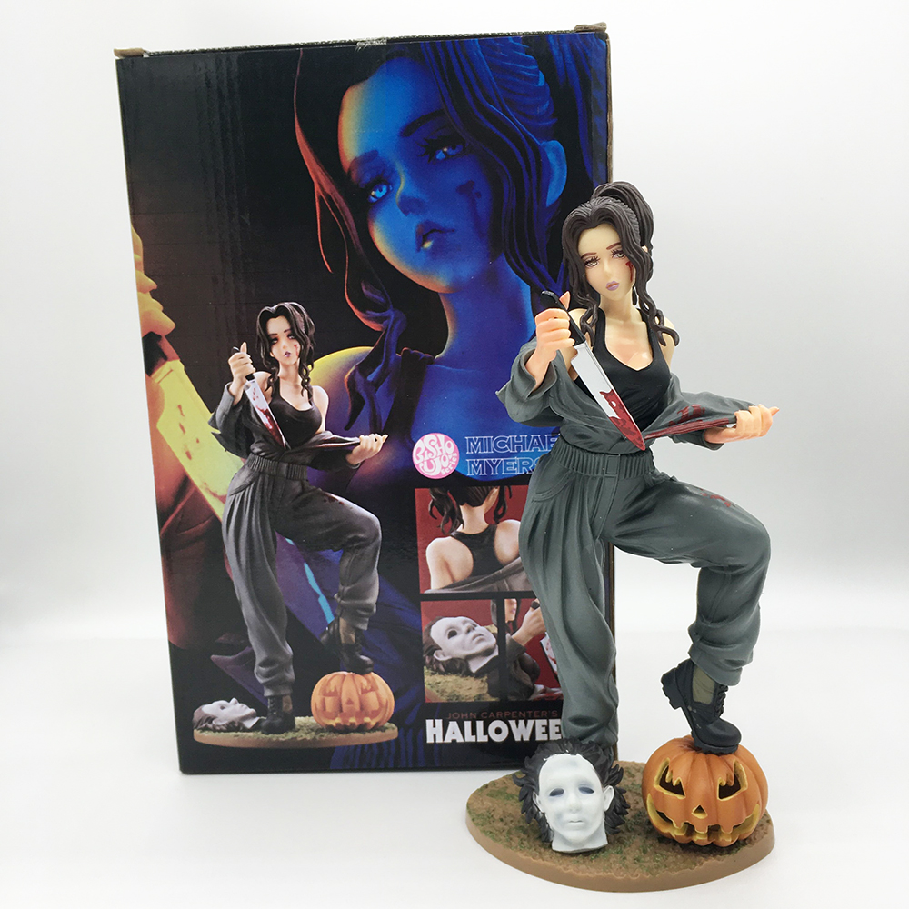 Halloween Michael Myers Kotobukiya Horror Bishoujo John Carpenter's <font><b>Sexy</b></font> <font><b>Girl</b></font> Action Figure PVC Figure Model Toys image