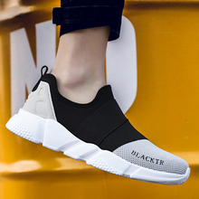 Men Casual Shoes Fashion 2019 New Mens Shoes Men Sneakers Woven Spring Light Mesh Men Jogging Chaussure Homme Lover Man Shoe 46