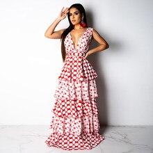 7dc323e1504d Great Summer 2019 New Sexy Party Dress Women Clothing Fashion Nova Woman  Long Maxi Dress Plus Size Printed Cake Bodycon Dresses