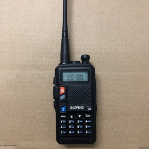 "Image 1 - Baofeng UVT2 R9 ווקי טוקי dual band 136 174 MHz (Rx/Tx) 400 520MHz עוצמה שתי דרך רדיו 10 ק""מ מכשיר קשר כף יד uvt2"