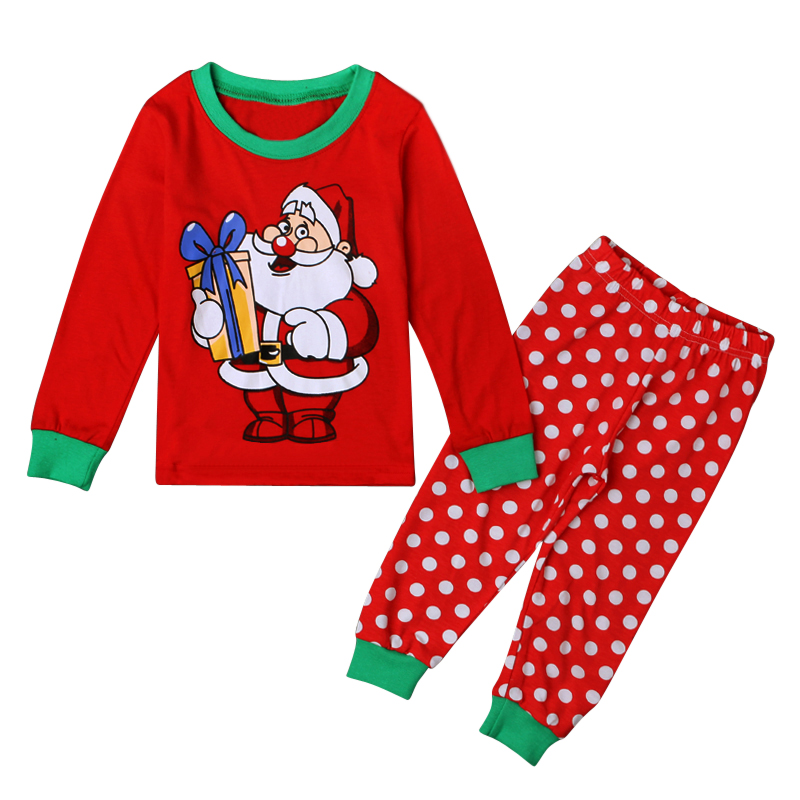 cartoon kids pajama sets children sleepwear boys nightwear girls family christmas pajamas retail toddler baby pyjamas 2t 7t ds40 in pajama sets from mother