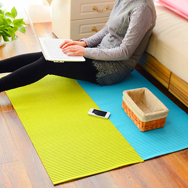 Waterproof Non Slip Mats Thick Floor Mat Diy Cut Out Table Bathroom Bedroom Living Room Tablemats Moisture Proof