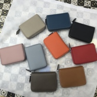 Kafunila 100% real leather ladies purse female leisure zipper card holder new fashion coin purse women's genuine leather wallets