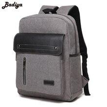 Купить с кэшбэком Fashion Men's Backpacks Solid Oxford Durable Shoulder Bags Men Casual Laptop Backpack for Male School Bag Student Travel Bags