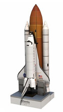 Space Shuttle Atlantis 1:150 Scale Paper model kit