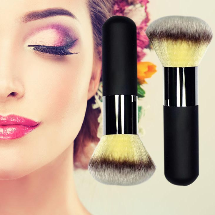 1PC Professional Large Blush Foundation Powder Brush Black Handle Soft Face Brushes Cosmetic Makeup Tools large soft cosmetic makeup brush