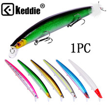 1PCS 18.5cm 22g Wobbler Fishing Lure Massive Minnow Crankbait Peche Bass Trolling Synthetic Bait Pike Carp Kosadaka