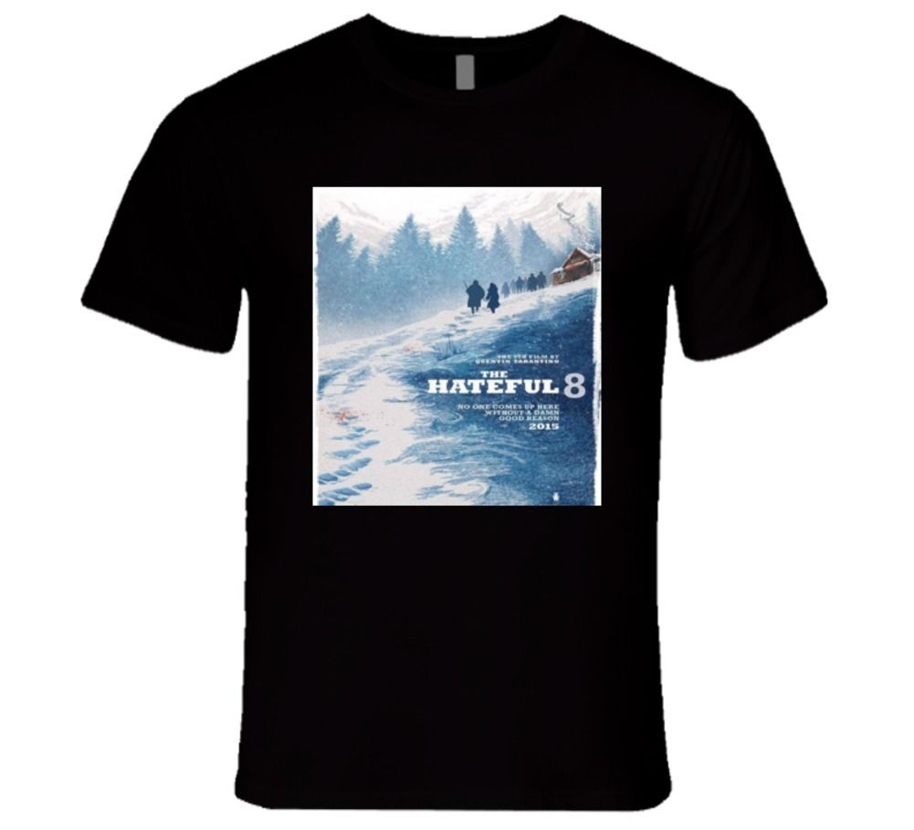 the hateful 8 Tarantinos new movie, action 2015 T Shirt image