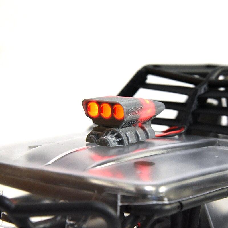 1 unid fantasma simulación Supercharger motor Cubierta puerto de entrada de aire para AXIAL Wraith 90018 90020 Crawler RC coches Decoración partes