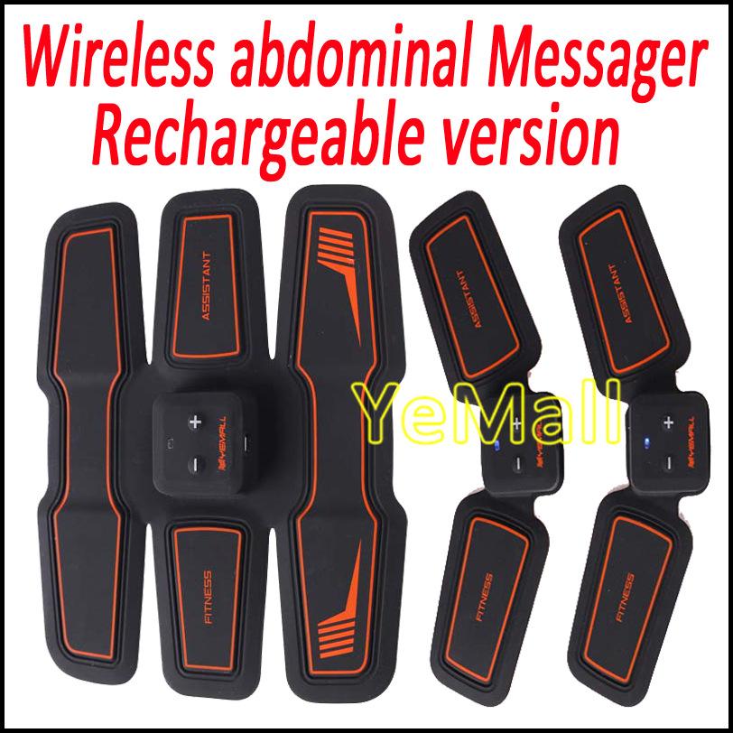 Inalámbrico Electrónico Del Músculo Aptitud del Toner Del Sistema Body Massager Estimulación Sistema de Tono Gear Entrenamiento de Ajuste Para El Brazo Abdomen Muslo