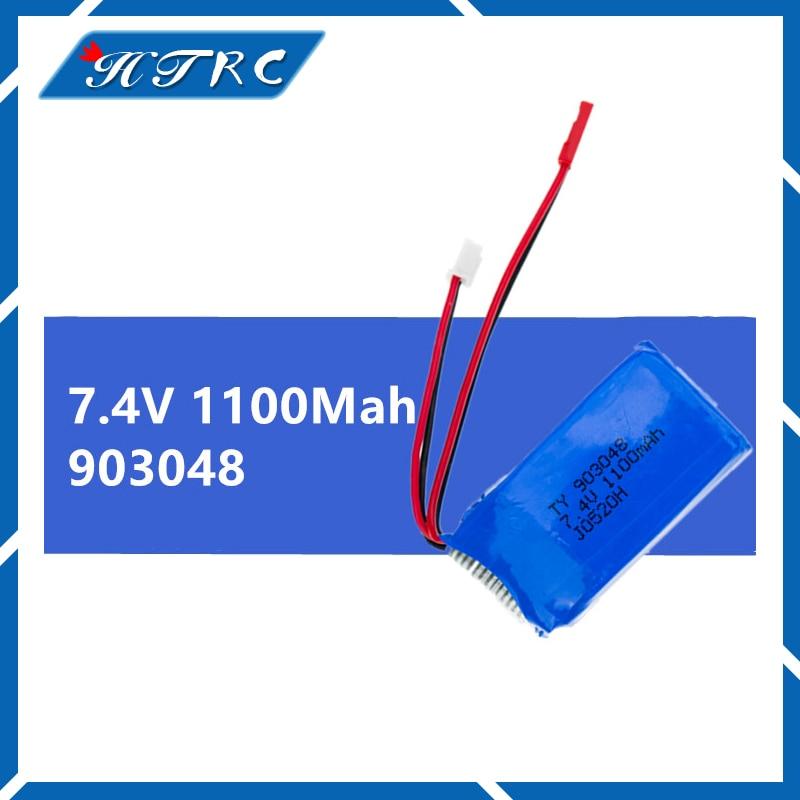 1 шт. 7.4 В 1100 мАч Li-Po Батарея для WLtoys A949 A959 A969 A979 K929 часть WLtoys часть высокое качество, оптовая продажа