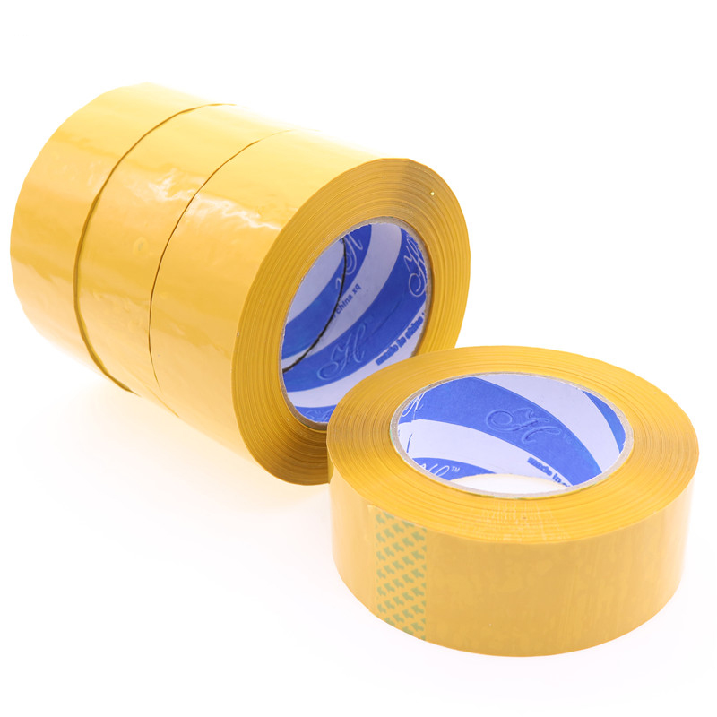 Wholesale Packaging Materials 110m * 4.4cm Yellow Tape Quality Packaging Tape Net Weight 290g Total Length Of 110m large capacity casual man backpack