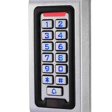LPSECURITY водонепроницаемый открытый металлический RFID Клавиатура дверной замок Автономный контроль доступа считыватель открывания ворот использование
