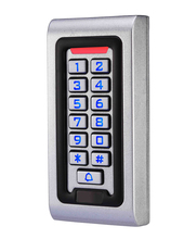 LPSECURITY 防水屋外金属 Rfid キーパッドのドアロックスタンドアロンアクセス制御リーダーゲートオープナー使用