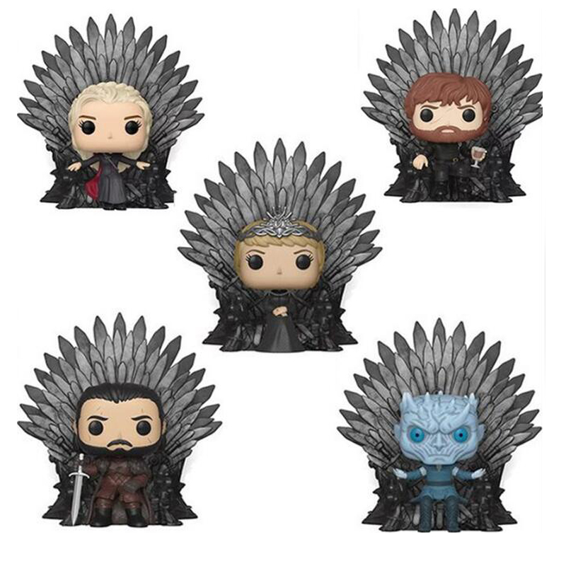 GAME OF THRONES Jon Snow Night King Tyrion Lannister Daenerys Targaryen Cersei Lannister PVC Vinyl Figure Toys