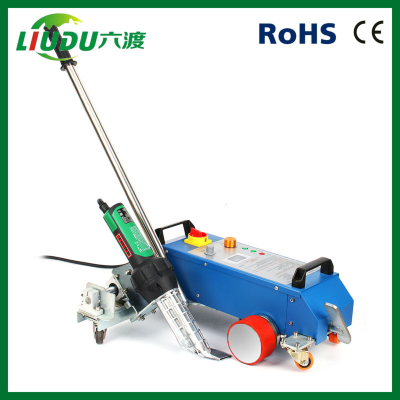 3400w Roof Waterproofing Hot Air Welding Machine For Pvc