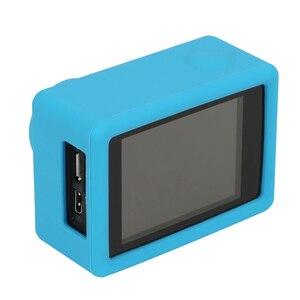 Image 4 - Silicone Case For SJCAM SJ4000 WIFI SJ5000 SJ7000 SJ9000 Soft Protective Cover For Eken H9 H9r GoPro Hero 3 Series Action Camera