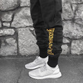 mens compression tights jogger pants High Quality Gosha Rubchinskiy Brand Joggers sweatpants Pantalon Homme Hip Hop Pant for Men